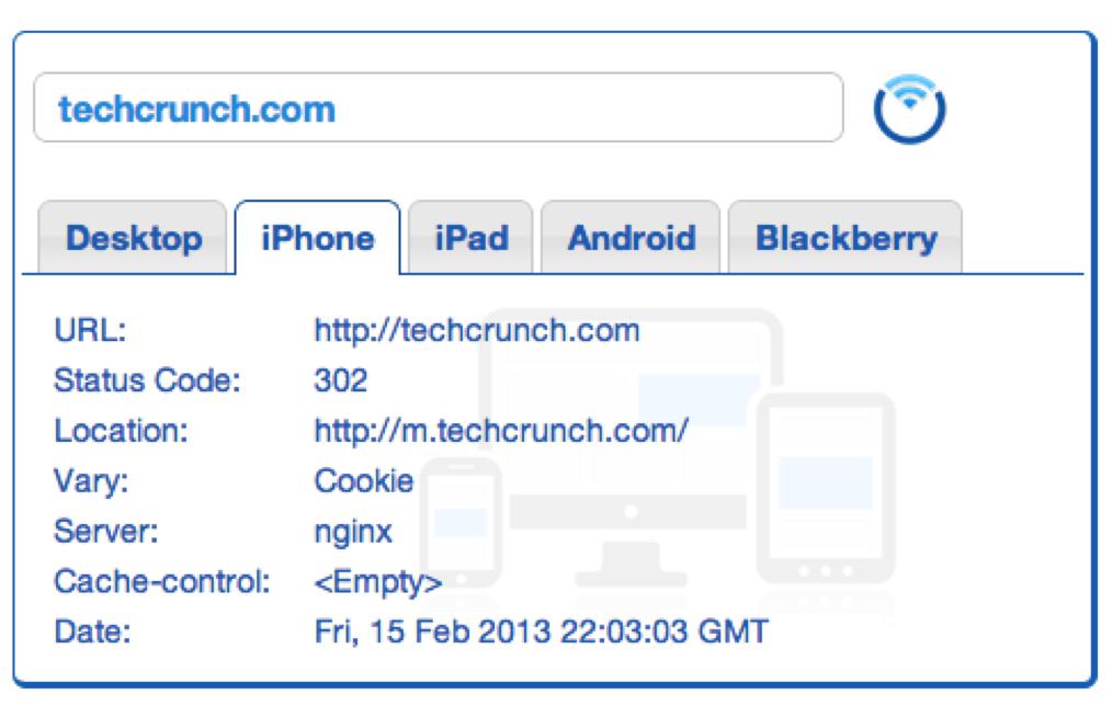 A look inside Techcrunch's Mobile Redirects