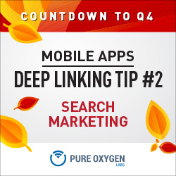 Search Marketing and Mobile App Deep Linking