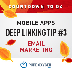 Email Marketing and Mobile App Deep Linking