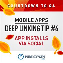 Driving retail app installs via social marketing