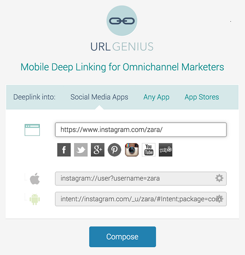 Deep Linking: Create Links That Can Detect the Instagram
