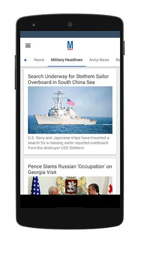 Military News App and URLgenius Deep Linking