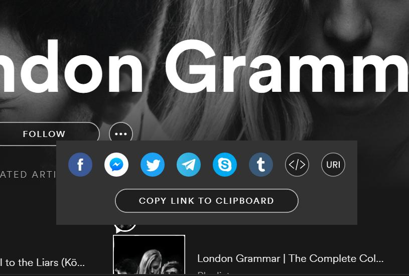 URLgenius App Deep Linking for Spotify