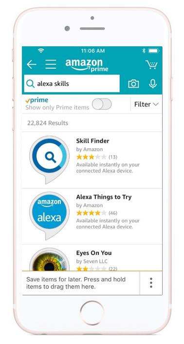 Linking to Amazon Alexa Skills in the Amazon App vs. Website