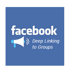 Deep Linking to Facebook Groups in the Facebook Mobile App