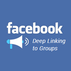 Deep Linking to Group Pages in the Facebook Mobile App