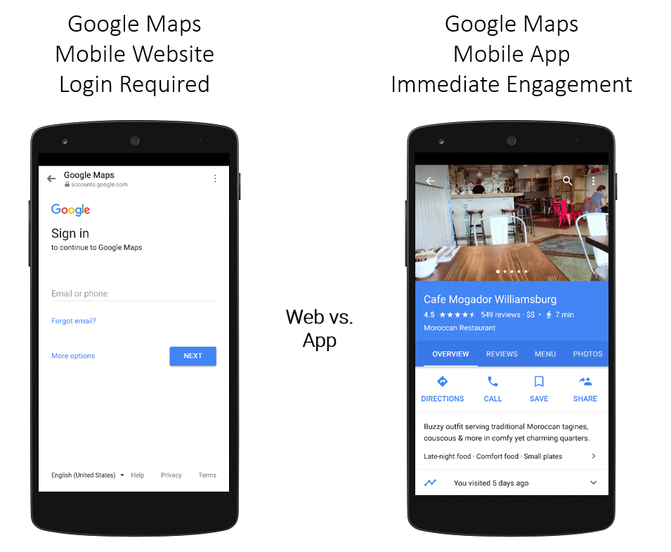 Deep Linking to Google My Business Places in Google Maps