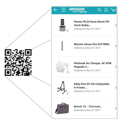 10 Ways to Use QR Codes Like Amazon to Win Mobile Commerce - (6) Dynamic Personalization
