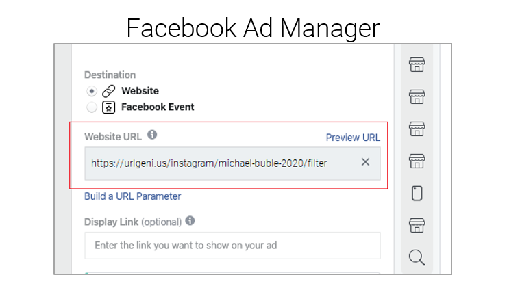 Setting Up A Facebook Ad to an Instagram FIlter