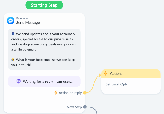 Messenger Bot Best Practices and App Deep Linking