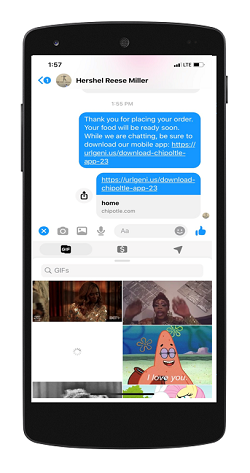 Link to Your App From Messenger
