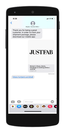 Link to Your App from SMS Messages