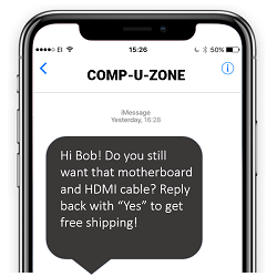 Single Link for SMS Text Messaging Deep Link for iOS and Android