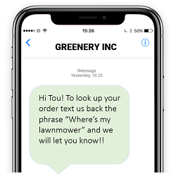 Single Link for SMS Text Messaging on iOS and Android
