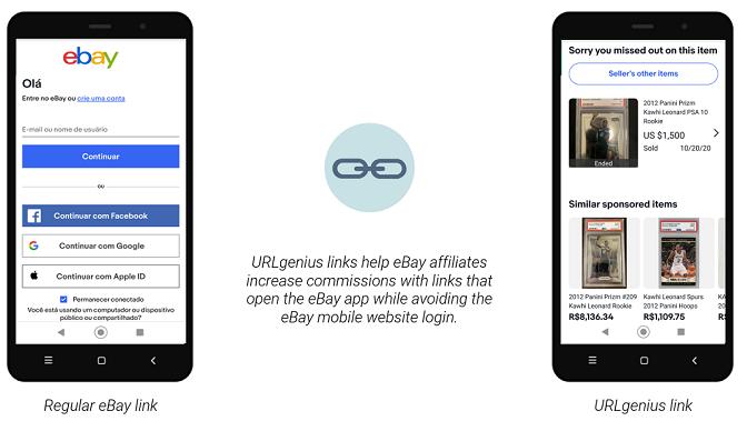 eBay App Deep Linking