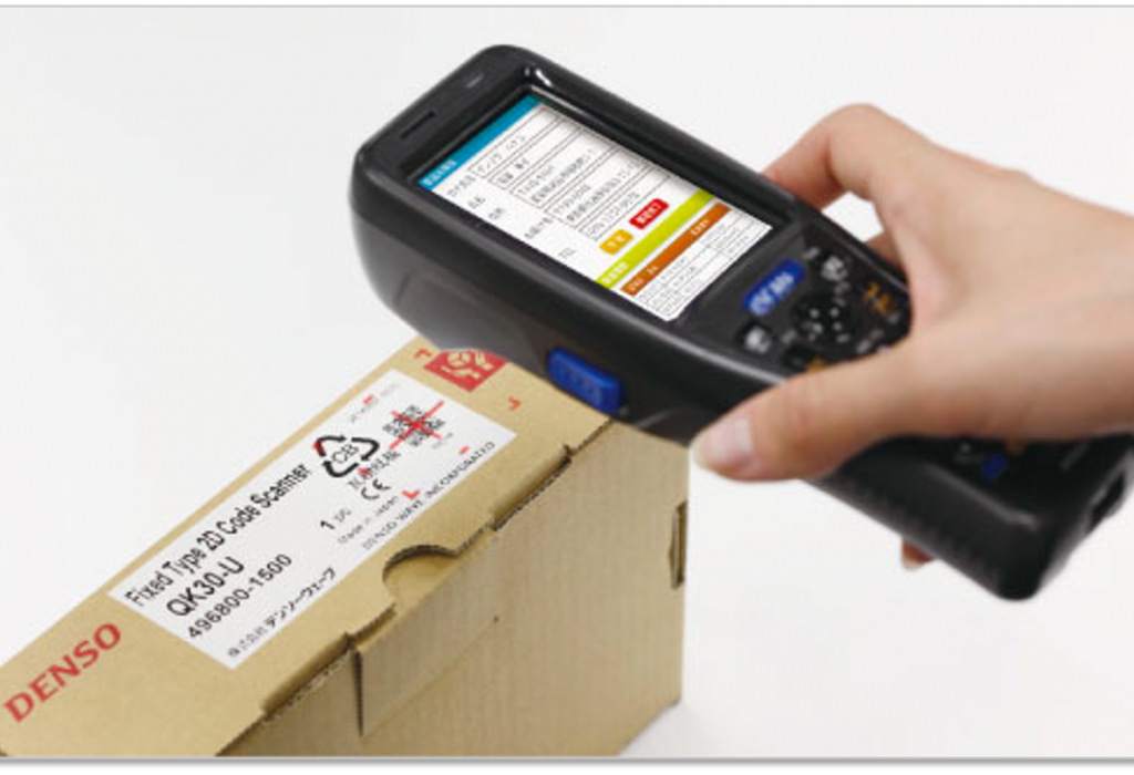 QR codes were invented by Denso Wave, a division of Toyota, for tracking auto part inventory with handheld scanners.